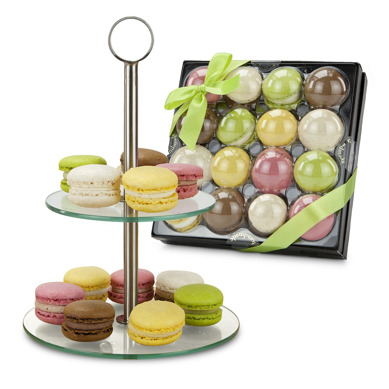 pr sent macarons etagere ab 19 90 st werbeartikel discounter. Black Bedroom Furniture Sets. Home Design Ideas